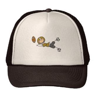 Chapéu do jogador de futebol do ouro boné