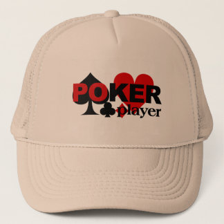 Chapéu do jogador de póquer boné