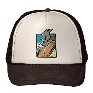 Chapéu do martelo dos desenhos animados boné