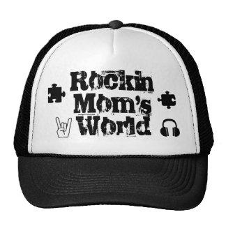 Chapéu do mundo das mães de Rockin Boné