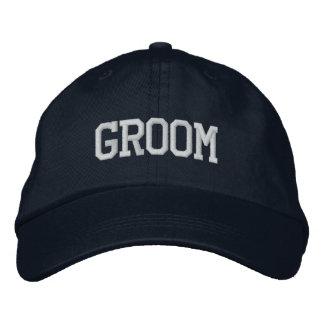 Chapéu do noivo boné bordado