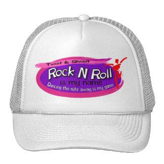Chapéu do rolo da rocha n boné