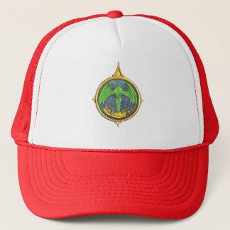 Chapéu do rosa de compasso do fogo do dragão boné