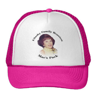 Chapéu do rosa do bloco do Mac Boné