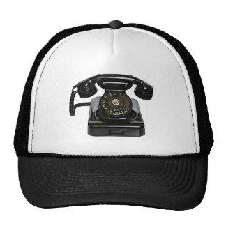 Chapéu do telefone do vintage boné