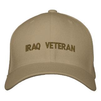 chapéu do veterano de Iraque Boné Bordado