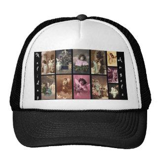 Chapéu dos anjos do feriado customizável boné