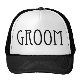 Chapéu dos noivos boné