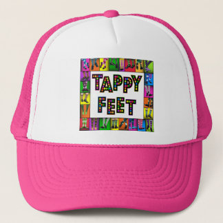 Chapéu dos pés de Tappy Boné