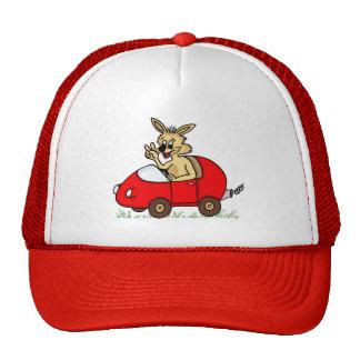 """chapéu engraçado """"coelho """" boné"""