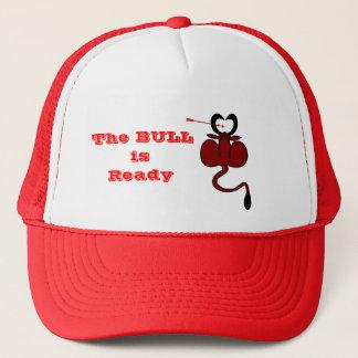 Chapéu engraçado do costume do touro dos namorados boné