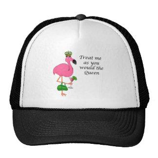 Chapéu engraçado do dia das mães do flamingo boné