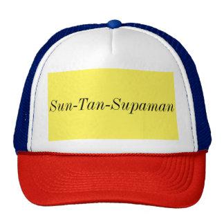 chapéu engraçado do supaman do tan de sol boné