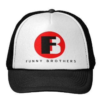Chapéu engraçado dos camionistas dos irmãos boné