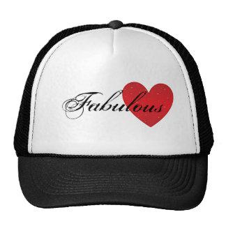 Chapéu fabuloso do camionista do coração bones