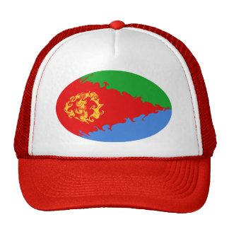 Chapéu Gnarly da bandeira de Eritrea Bonés