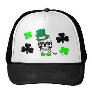 Chapéu irlandês do crânio boné