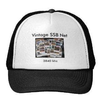 Chapéu líquido do vintage SSB Boné