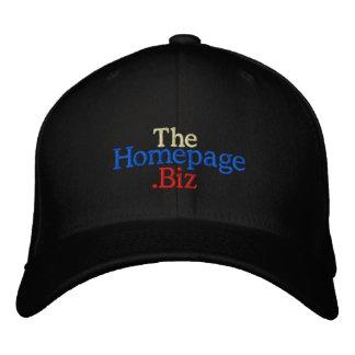 Chapéu negro de TheHomepage.Biz Boné Bordado
