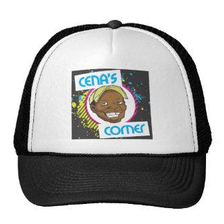 Chapéu oficial de canto do logotipo de Cena Boné