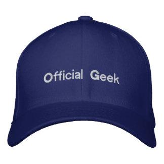 Chapéu oficial do geek boné bordado