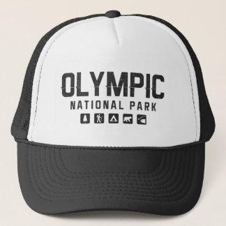 Chapéu olímpico do camionista do parque nacional boné