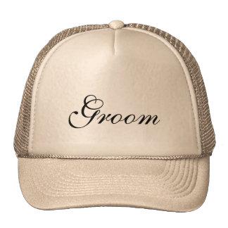 Chapéu para o noivo boné