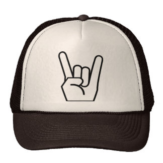 chapéu, rock and roll, marrom boné