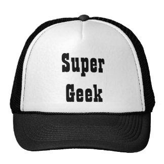 Chapéu super do camionista do geek boné
