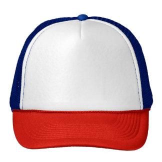 Chapéu vermelho/branco/azul do camionista boné
