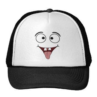 Chapéus engraçados da cara boné