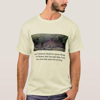 Chariots do ferro camiseta