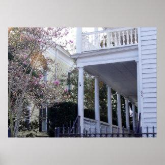 Charleston histórico, SC Poster