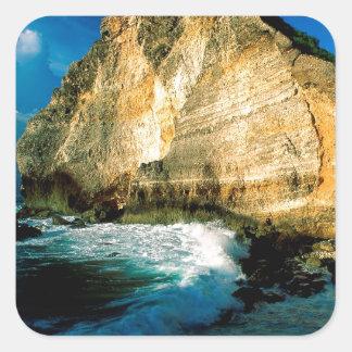 Chateaux Guadalupe do DES de Pointe da praia Adesivo
