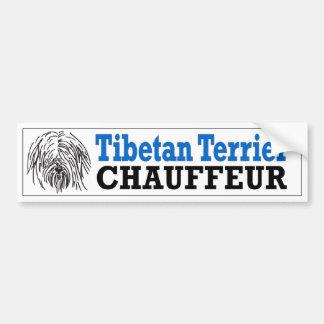 Chauffeur de Terrier tibetano Adesivos
