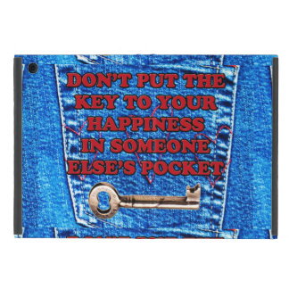 Chave à sarja de Nimes de calças de ganga das cita iPad Mini Capa