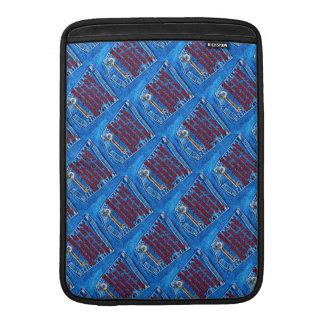 Chave à sarja de Nimes de calças de ganga das cita Bolsa Para MacBook Air