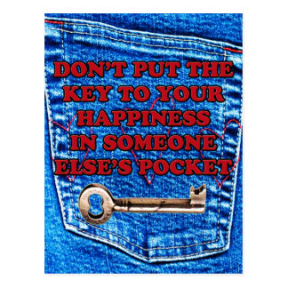 Chave à sarja de Nimes de calças de ganga das cita Cartões Postais