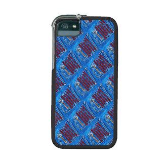 Chave à sarja de Nimes de calças de ganga das cita Capas iPhone 5/5S