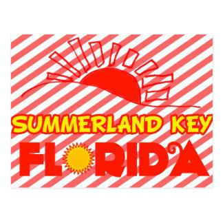 Chave de Summerland, Florida Cartões Postais