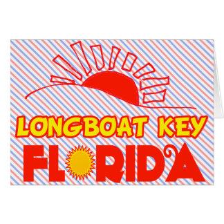 Chave do Longboat, Florida Cartões