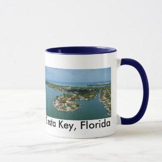 Chave do Siesta, caneca de café de Florida