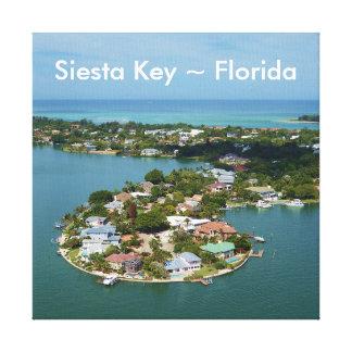Chave do Siesta, canvas de Florida