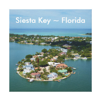 Chave do Siesta, canvas de Florida Impressão Em Tela