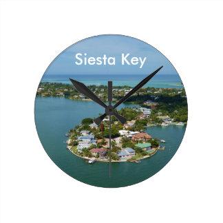 Chave do Siesta, Florida Relógios Para Pendurar