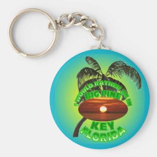 Chave grande Keychain. do pinho de Florida Chaveiro