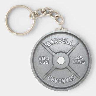 Chaveiro 20KG 45LB da placa do peso