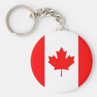 Chaveiro A bandeira da bandeira canadense da folha de bordo