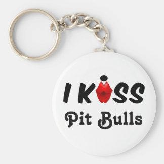 Chaveiro A corrente chave eu beijo pitbull