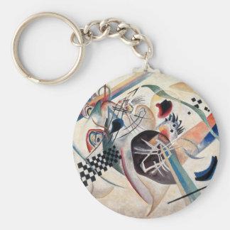 Chaveiro Abstrato da composição de Kandinsky